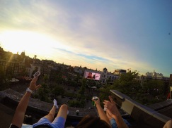 Freedom ! Rooftop ! Amsterdam hotel roof